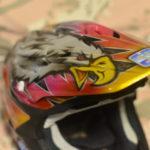 【SHOEI VFXシリーズ】オフロードヘルメット ペイント ホーク